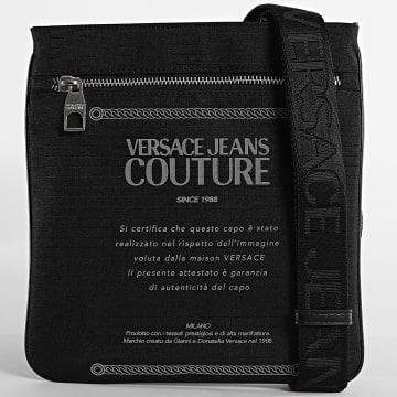 Versace Jeans Couture - Sacoche Linea Warranty Label E1YWAB27 Réfléchissant Noir
