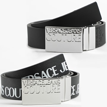 Versace Jeans Couture - Ceinture Réversible Linea Cinture D8YZAF32 Noir