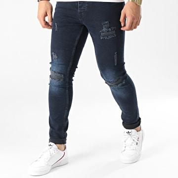 2Y Premium - Jean Skinny B5682 Bleu Brut