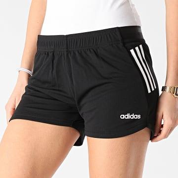 adidas - Short Jogging Femme A Bandes DS8725 Noir