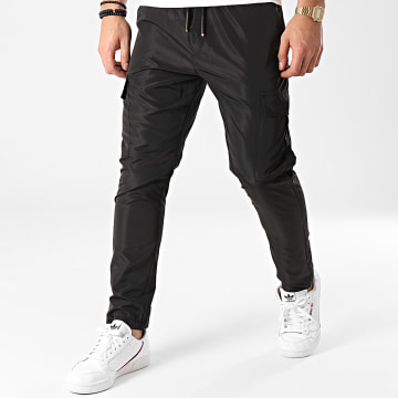 Ikao - Pantalon Cargo LL207 Noir