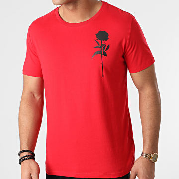 Luxury Lovers - Tee Shirt Chest Rouge