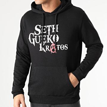 Seth Gueko - Sweat Capuche Kratos Noir