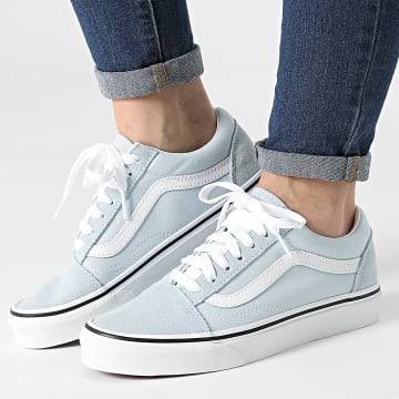 Vans - Baskets Femme Old Skool A38G1Q6K1 Baby Blue True White