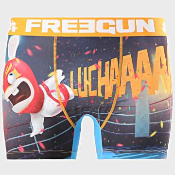 Freegun - Boxer Lapin Crétins Orange