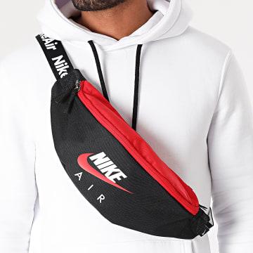 Nike - Sac Banane Heritage Noir Rouge