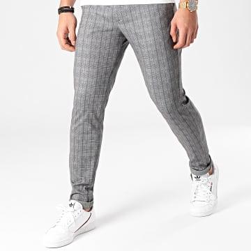 Produkt - Pantalon A Carreaux Phil Spring Gris