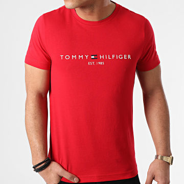 Tommy Hilfiger - Tee Shirt Logo 1797 Rouge