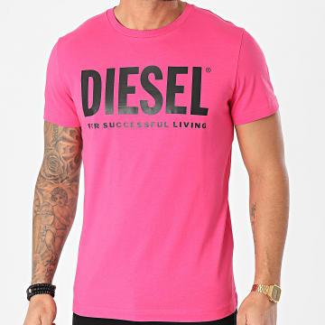 Diesel - Tee Shirt Diego 0AAXJ Rose