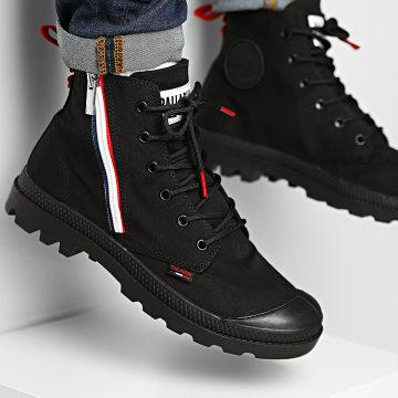 Palladium - Boots Pampa FR Zip 76663 Black Black