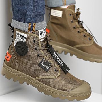 Palladium - Boots Pampa Lite Overlab 76639 Dark Olive