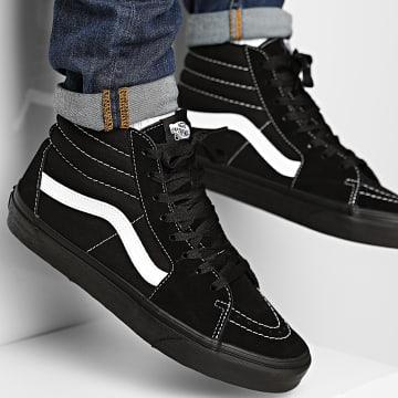 Vans - Baskets Sk8-Hi A32QG5WU1 Suede Canvas Black Black True White
