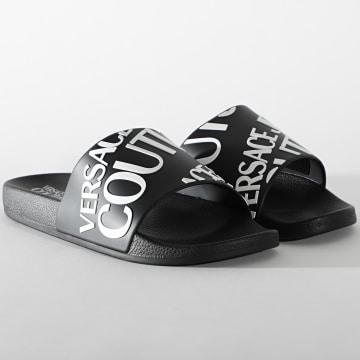 Versace Jeans Couture - Claquettes Linea Fondo Slide E0YWASQ1 Noir