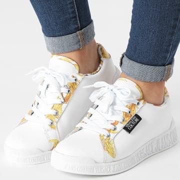 Versace Jeans Couture - Baskets Femme Linea Fondo Penny E0VWASP1 White Renaissance