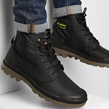 Palladium - Boots Pampa Recycle Waterproof 76870 Black Black