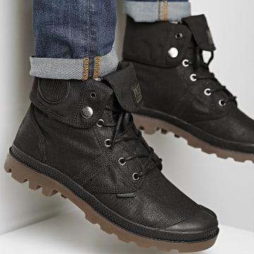 Palladium - Boots Pallabrousse Baggy Wax 75534 Black Dark Gum