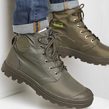 Palladium - Boots Pampa Recycle Waterproof 76870 Olive Night
