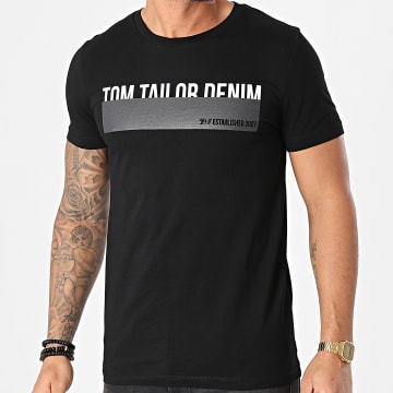 Tom Tailor - Tee Shirt 1016303-XX-12 Noir