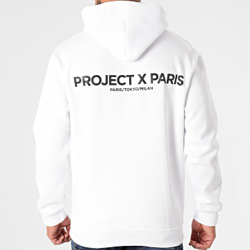 Project X - Sweat Capuche 2020074 Blanc