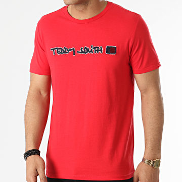 Teddy Smith - Tee Shirt Clap Rouge