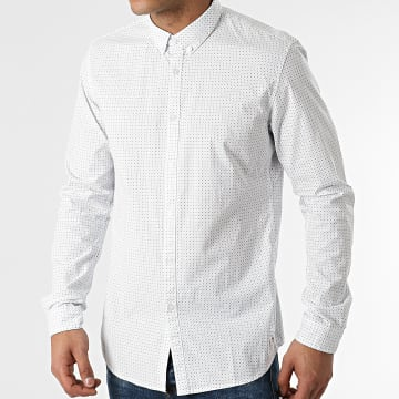 Tom Tailor - Chemise Manches Longues 1024395-XX-12 Blanc
