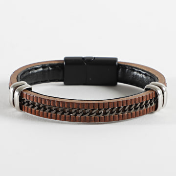 Black Needle - Bracelet BBN-332 Marron