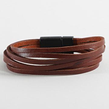 Black Needle - Bracelet BBN-324 Marron