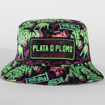 Classic Series - Bob Plata O Plomo Print Vert Noir