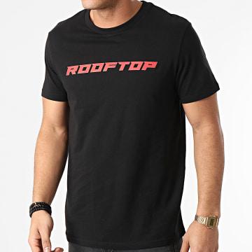 SCH - Tee Shirt Rooftop Noir Rouge