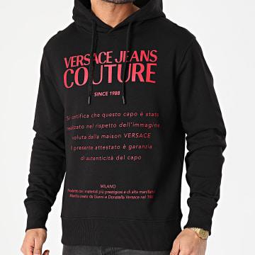 Versace Jeans Couture - Sweat Capuche Garanzia B7GWA7TW-30318 Noir