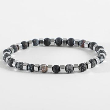 Black Needle - Bracelet BBN-364 Gris