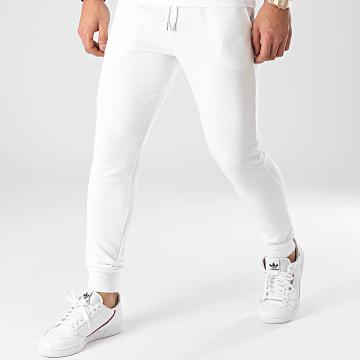 Frilivin - Pantalon Jogging BM1169 Blanc