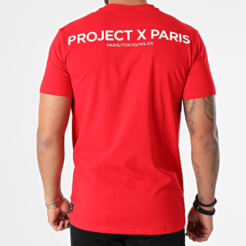 Project X - Tee Shirt 2010138 Rouge