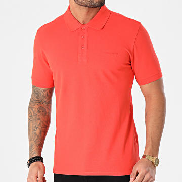 Teddy Smith - Polo Manches Courtes Florin Orange