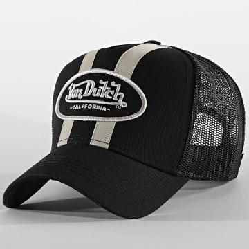 Von Dutch - Casquette Trucker Stripe Noir