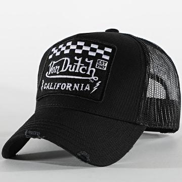 Von Dutch - Casquette Trucker Patch Noir