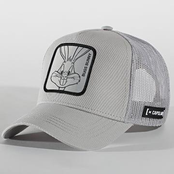 Capslab - Casquette Trucker Bugs Bunny Gris