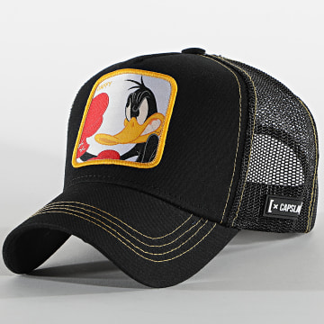 Capslab - Casquette Trucker Daffy Noir