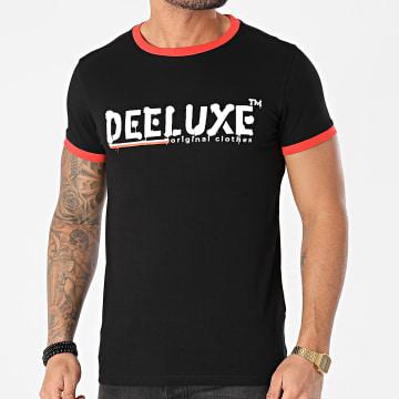 Deeluxe - Tee Shirt Alec Noir Orange