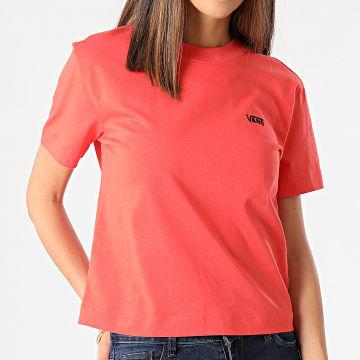 Vans - Tee Shirt Femme Junior V Boxy A4MFL Orange