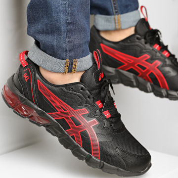 Asics - Baskets Gel Quantum 90 1201A064 Black Classic Red