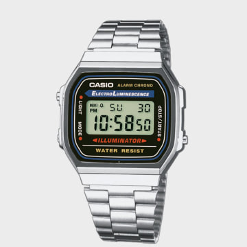 Casio - Montre Vintage A168WA-1YES Acier