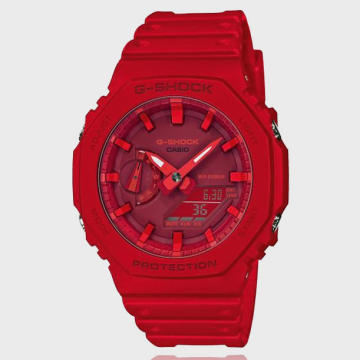 Casio - Montre G-Shock GA-2100-4AER Rouge