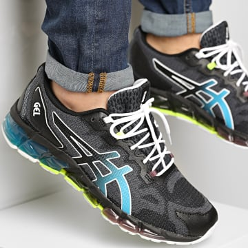 Asics - Baskets Gel Quantum 360 6 1201A062 Black Aizuri Blue