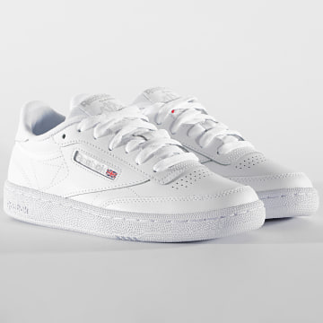 Reebok - Baskets Femme Club C 85 BS7685 White Light Grey