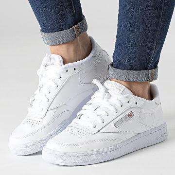 Reebok - Baskets Femme Club C 85 BS7685 White Light Grey