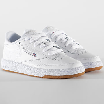 Reebok - Baskets Femme Club C 85 BS7686 White Light Grey Gum