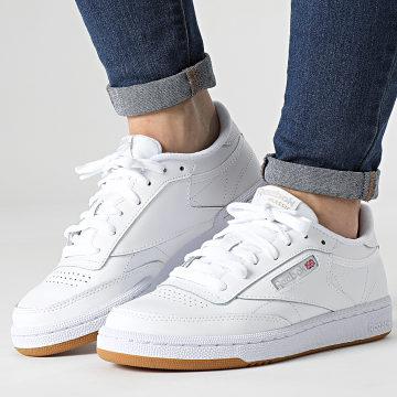 Reebok - Baskets Femme Club C 85 BS7686 White Light Grey Gum