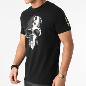 Venum - Tee Shirt Skull 04034 Noir Doré