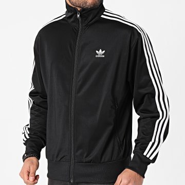 Adidas Originals - Veste Zippée A Bandes Firebird GN3521 Noir